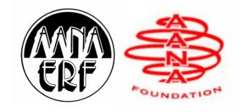 AANA Foundation ERF logos