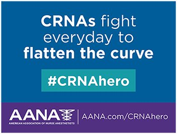 CRNAs fight everyday to flatten the curve