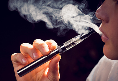 Electronic cigarettes (also called e-cigarettes or electronic nicotine  delivery systems) are battery-operated devices designed to deliver nicotine  with ...