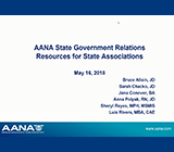 AANA State Government Relations Resources for State Associations